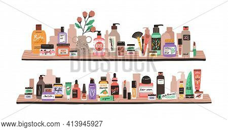 Beauty And Skincare Cosmetic Products, Decorative Cosmetics, Makeup Items, Perfumery And Toiletries