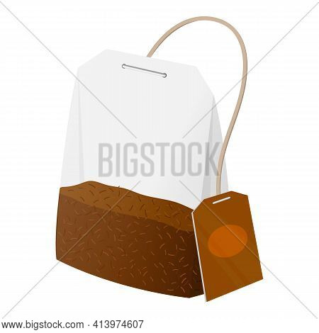 Tea Bag. Cool New Realistic Tea Images For Advertising Campaigns Or Blogs.