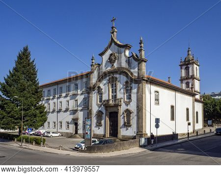 Church Of The Major Seminary In The Historic City Of Viseu, Portugal