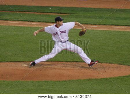 Jonathan Papelbon Pitching