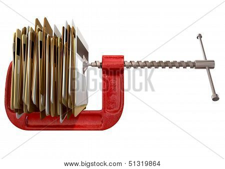 Clamped Credit Card Crunch