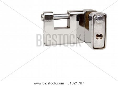 Two Isolated Solid Heavy Duty Safety Locks