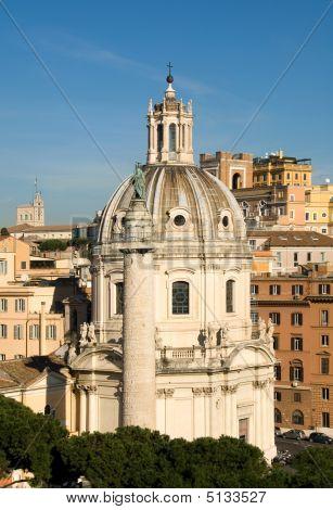 City Scene - Rome