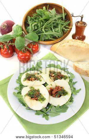 Fresh Stuffed Mozzarella