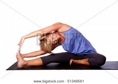 Yoga Head To Knee Pose