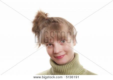 Joyful Young Woman