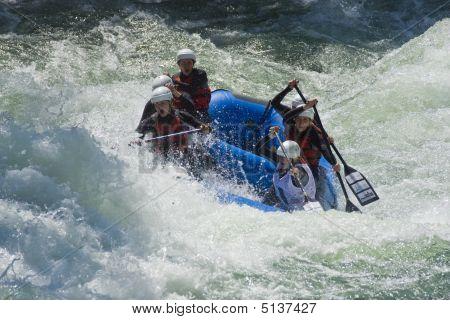 Banja Luka, Republika Srpska, Bosnia - May 18: World Rafting Champs Banja Luka 2009