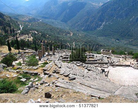 Ruins In Delphi