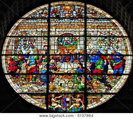 Siena Cathedral Facade Window