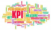 KPI or Key Performance Indicator as Concept  poster