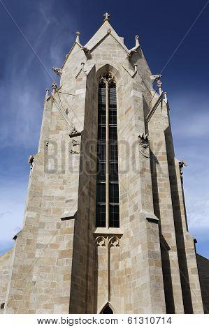 Romanesque-gothic Church