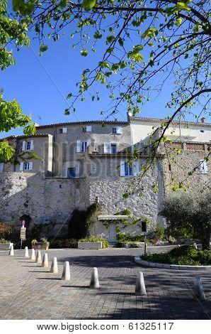 Village Of Castellet In France