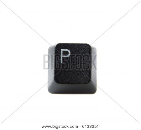 Keyboard Letter P