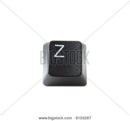 Keyboard Letter Z