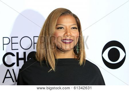 LOS ANGELES - JAN 8: Queen Latifah at The People's Choice Awards at the Nokia Theater L.A. Live on January 8, 2014 in Los Angeles, California