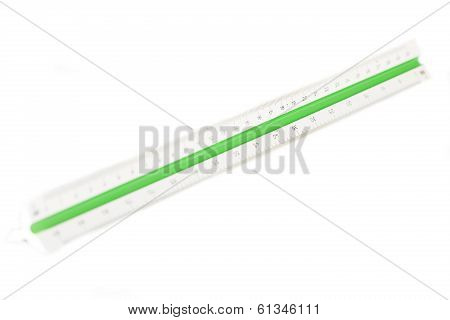 Scaler On White Background
