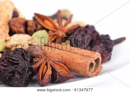 Spices For Preparation Mulled Wine
