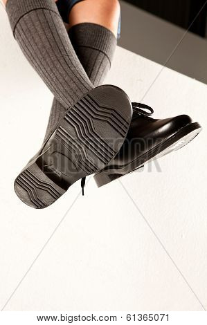 Dangling Boys School Shoes