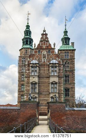 Rosenborg palace is a renaissance castle located in Copenhagen Denmark. The castle was originally built as a country summerhouse in 1606 poster