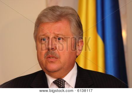 Meeting of heads of foreign affairs ministries of Ukraine and Russian Federation - Volodymyr Khandog