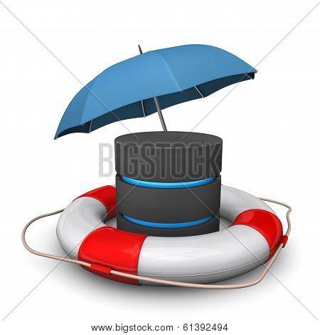Database Umbrella Lifebelt