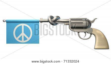 Pistol Peace Flag