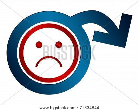 Erectile Dysfunction Sad Face