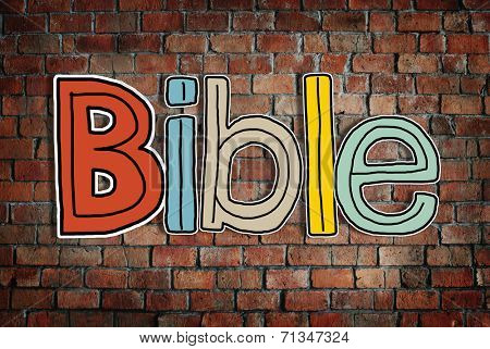 Bible Concepts Isolated on Background