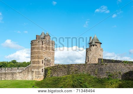 Castle Of Fougeres, Ille-et-vilaine Department (france)