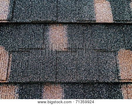 Colored Asphalt Roof Structure