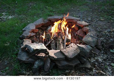 The Best Part of Camping...the Fire!