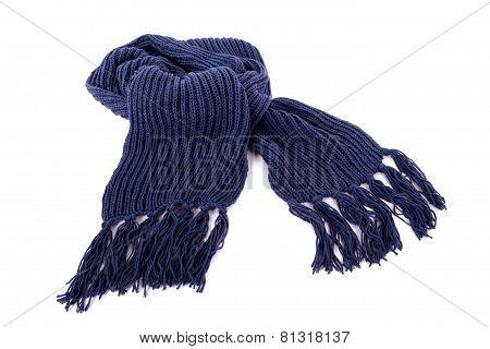 Blue Winter Scarf