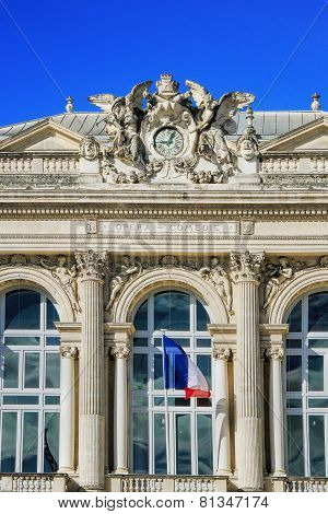 Opera House In Montpellier, France