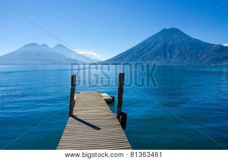 Pier Lake Atitlan