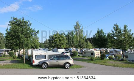 Camping site for caravans - Germany