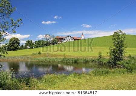 Bavarian rural landscape