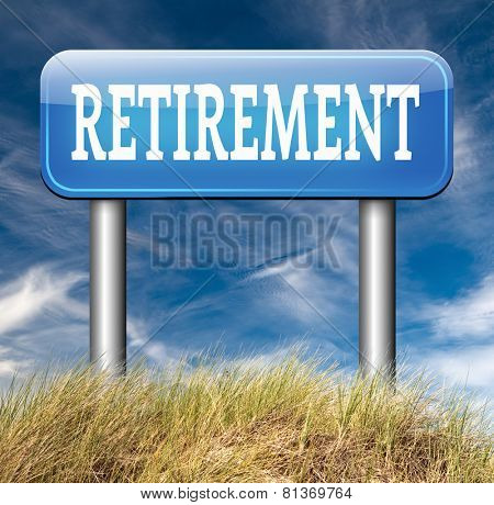 enjoy yor retirement by a decent pension plan and extra funds