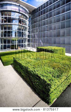 Berlin Bundestag Chancellery