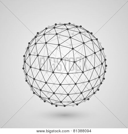 Polygonal sphere of information