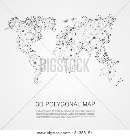 Map 3d polygon