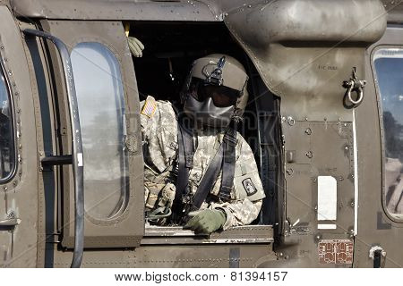 Black Hawk Crew chief