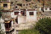 A beautiful house in the complex of Hemis monastery Leh Ladakh ,India poster