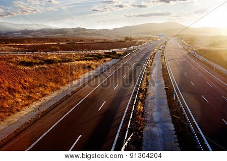 highways and road