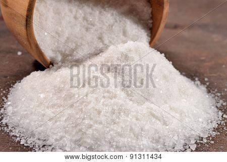 Salt In A Bowl