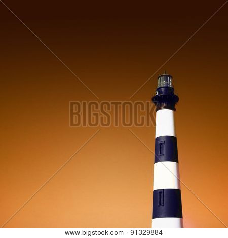 Instagram filtered image of Bodie Lighthouse, Outer Banks, North Carolina