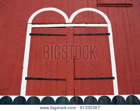 Old Red Barn Doors - Kutztown, Pennsylvania