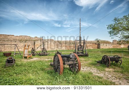 Ancient Weapon In Akkerman Fortress At Belgorod-dnestrovsky
