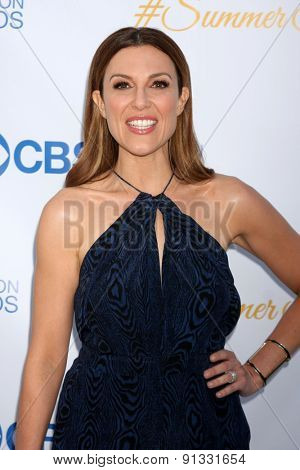 LOS ANGELES - MAY 18:  Thea Andrews at the CBS Summer Soiree 2015 at the London Hotel on May 18, 2015 in West Hollywood, CA