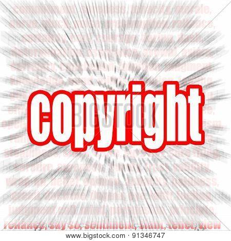Copyright Word Cloud
