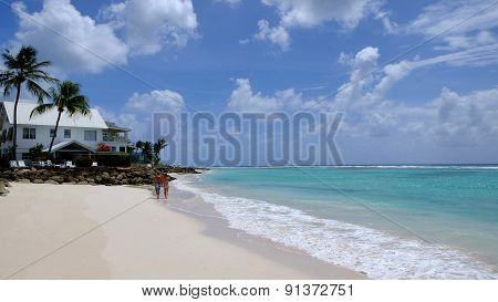 Worthing beach Barbados